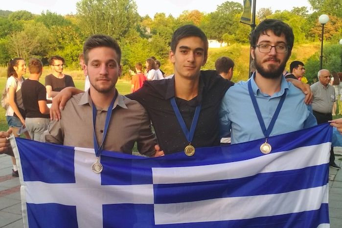 Significant success of the Department of Mathematics of the University of Athens: 3 medals in the 2019 IMC Student Competition